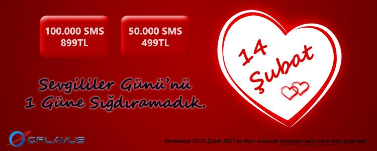 Oplavus Telekom - 14 Şubat Sevgililer Günü özel fiyatları 25 Şubata kadar geçerlidir.